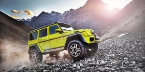 Mercedes-Benz G 500 4X4 Unleashed