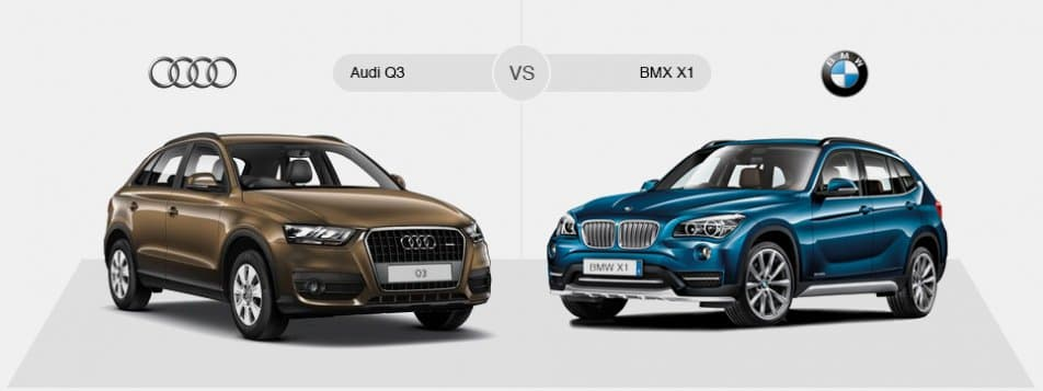 Compare Audi Q3 Vs Bmw X1