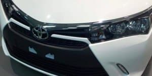 Facelift Toyota Corolla spied up-close