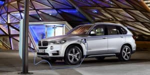 BMW X5 xDrive40e Plug-in-Hybrid Revealed