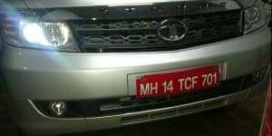 Scoop - Tata Safari Strome Facelift launching in April 2nd week