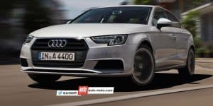 Rendering - India-bound 2016 Audi A4