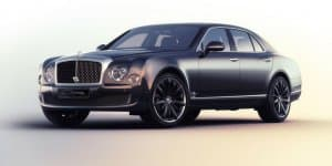 Unveiled - Special Edition Bentley Mulsanne Speed Blue Train