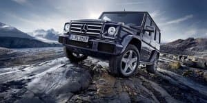 Biturbo V8 4.0L Mercedes G-Class facelift revealed