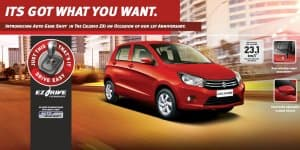 Maruti Celerio ZXi AMT Launched at Rs. 4.99 Lakhs