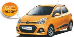 Hyundai offers celebration benefit up to Rs. 26,000 on Hyundai Grand i10