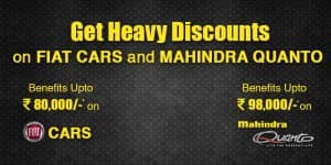 Car Offers & Discounts in May 2015 – Mahindra Quanto & All Fiat Cars