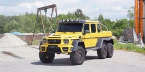 Mansory adds punch to Mercedes-Benz G63 AMG 6x6