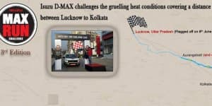Isuzu India Flags Off 3rd Edition of Max Run Challenge