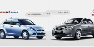 Compare Maruti Suzuki Swift Dzire Vs Toyota Etios