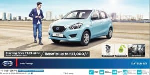 Car Offers & Discounts in June 2015 – Datsun Go