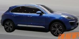 Porsche suing Chinese automaker for stealing Macan's design