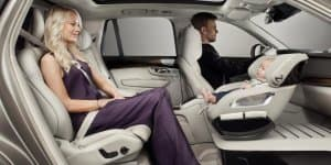 Video - Volvo develops swiveling child seat concept