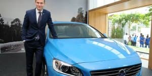 Volvo S60 T6 Petrol Launched at Rs. 42 Lakhs