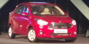 Ford Figo Aspire Engine Details Revealed