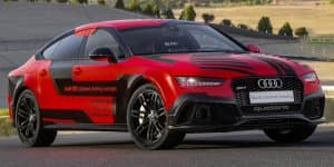 Audi RS7 piloted driving concept gets 400 kg diet