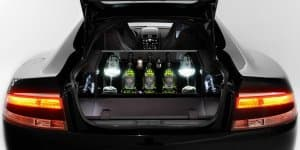Aston Martin and Dom Pérignon put champagne cellar in Rapide S