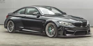 BMW M4 widened by TAG Motorsports