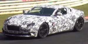 Video - Aston Martin DB11 spied testing on the Nurburgring