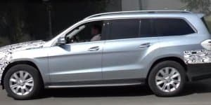 Video - 2016 Mercedes GLS spied up close