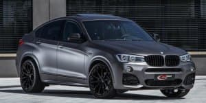 India-bound BMW X4 tuned by Lightweight