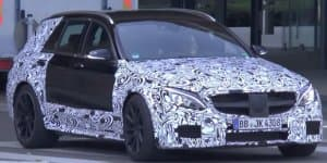 Video - Possible Mercedes-AMG C63 Estate Black Series spied
