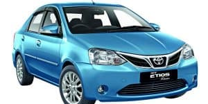 Toyota Etios Xclusive Launched at Rs. 7.82 Lakhs