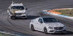 Mercedes-AMG continues the C63 Coupe teasing game