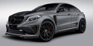 India-bound Mercedes GLE Coupe modified by Lumma