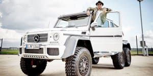 Lewis Hamilton considering the Mercedes-Benz G63 AMG 6x6