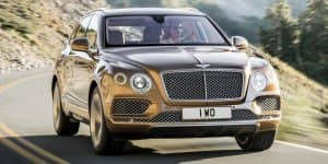 Video - Bentley Bentayga SUV Fully Revealed