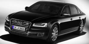 Audi launches its safest car ever - A8 L Security