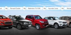 Mahindra TUV300 Vs Competition