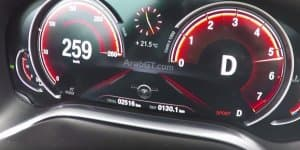 Video - 2016 BMW 750i xDrive hits 250 kmph