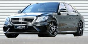 Mercedes S63 AMG gets 700 bhp from G-POWER