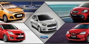 Compare Ford Figo Vs Grand i10 Vs Swift Vs Etios Vs Brio