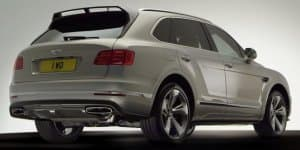 Video - Bentley Bentayga Styling Specification revealed