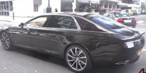 Video - Aston Martin Lagonda caught on camera in UK