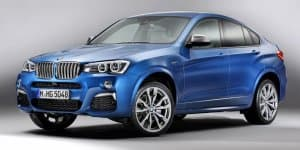 BMW X4 M40i makes unofficial early debut