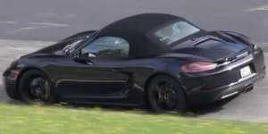 Video - 2016 Porsche Boxster S spied at the Ring