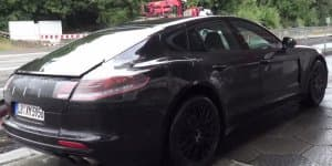 Video - 2017 Porsche Panamera testing near the 'Ring