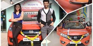 Nach Baliye Season 7 Winners Get All-New Honda Jazz