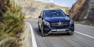 Mercedes-Benz GLE India Launch on October 14, 2015