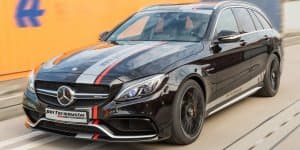 Mercedes-AMG C63 S Estate tuned to 612 bhp