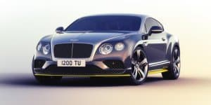 Video - Bentley details the Continental GT Speed Breitling Jet Team Series by Mulliner