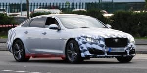 Next generation Jaguar XJ L caught testing
