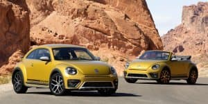 New Volkswagen Beetle Dune World Premiere at 2015 Los Angeles Auto Show
