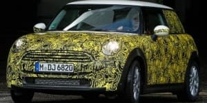 2014 Mini to be unveiled in a week spied