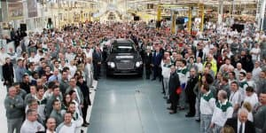 First Bentley Bentayga Rolled Out
