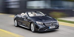 Mercedes-AMG S 65 Cabriolet Unveiled